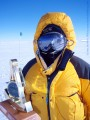 Barbara Hillary at the South Pole