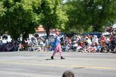 Uncle Sam leading the 4th of July Parade