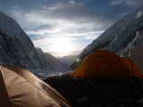 Our tent at Everest Camp 2 (copyright Matt Thornton)
