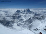 Makalu­­­­­ as seen from the summit