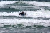 Chris in a wave