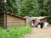 Fort Clatsop - where L&C wintered after reaching the Ocean
