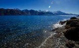 Lake Pangong from the Spangmik shore