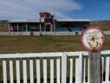 Grandstand at the Stanley Racetrack