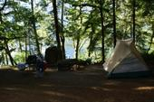 Lake Crescent Campsite