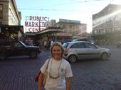 Pike Place Market (home of the flying fish!)