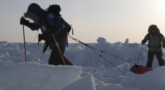 Pole to Pole Run with Icetrek Expeditions