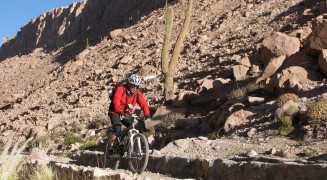 Despoblado de Atacama en Mt. Bike Pared Sur Expediciones