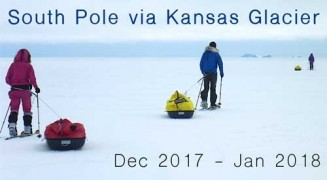 South Pole via Kansas Glacier
